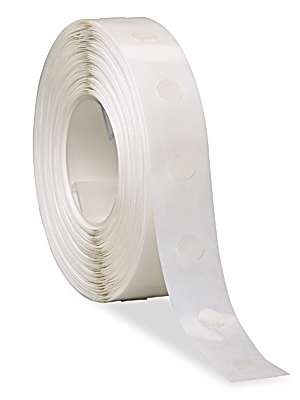 Glue Dot 1/2inch dia HIGH tac 1500 low profile dots per roll