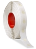 Glue Dot 1/2inch dia SUPER HIGH tac low profile 1500 roll