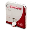 Glue Dot 1/2inch dia HIGH tac low profile 4000 dots per box