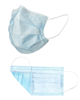 Respirator Surgical Earloop Style 3 ply 50 masks per box