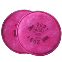 3M P100 Particulate filter, disk