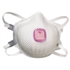 Moldex P100 Particulate Respirators, Half Face-piece/mask, M/L, 5/bag