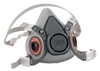 3M Half Mask Reusable Respirator 6000 series