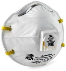 N95 Particulate Respirator, Disposable, Exhalation Valve