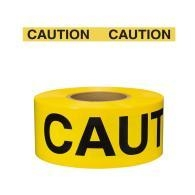 CAUTION Barricade Tape, 3inch x 300ft