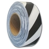 Triage Tape, Black & White Striped