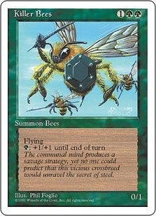 Killer Bees - Fourth Edition - Uncommon