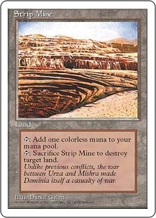 Strip Mine - Fourth Edition - Uncommon