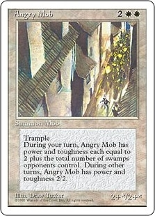 Angry Mob - Fourth Edition - Uncommon