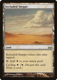 Secluded Steppe - Duel Decks Anthology, Divine vs. Demonic - Common
