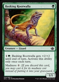 Basking Rootwalla - Duel Decks Anthology, Garruk vs. Liliana - Common