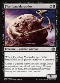 Fleshbag Marauder - Duel Decks Anthology, Garruk vs. Liliana - Uncommon