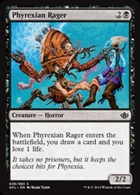 Phyrexian Rager - Duel Decks Anthology, Garruk vs. Liliana - Common