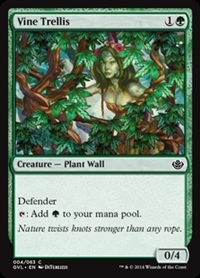 Vine Trellis - Duel Decks Anthology, Garruk vs. Liliana - Common