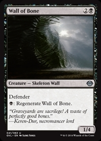Wall of Bone - Duel Decks Anthology, Garruk vs. Liliana - Uncommon