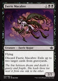 Faerie Macabre - Duel Decks Anthology, Garruk vs. Liliana - Common