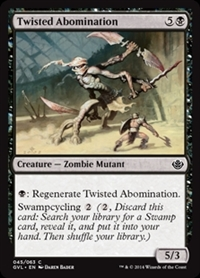 Twisted Abomination - Duel Decks Anthology, Garruk vs. Liliana - Common