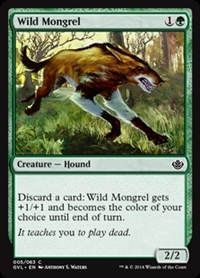Wild Mongrel - Duel Decks Anthology, Garruk vs. Liliana - Common