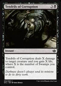 Tendrils of Corruption - Duel Decks Anthology, Garruk vs. Liliana - Common