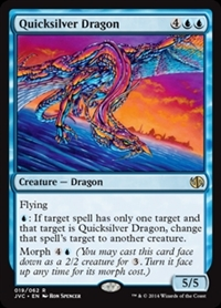 Quicksilver Dragon - Duel Decks Anthology, Jace vs. Chandra - Rare