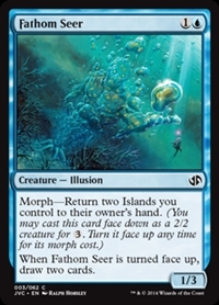 Fathom Seer - Duel Decks Anthology, Jace vs. Chandra - Common