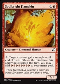 Soulbright Flamekin - Duel Decks Anthology, Jace vs. Chandra - Common