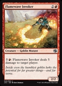 Flamewave Invoker - Duel Decks Anthology, Jace vs. Chandra - Uncommon