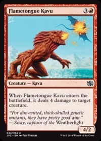 Flametongue Kavu - Duel Decks Anthology, Jace vs. Chandra - Uncommon