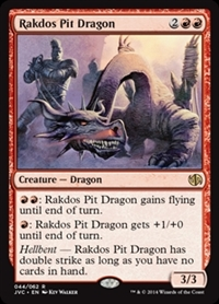 Rakdos Pit Dragon - Duel Decks Anthology, Jace vs. Chandra - Rare