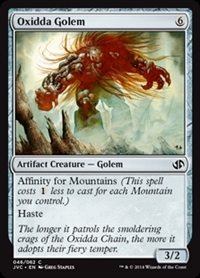 Oxidda Golem - Duel Decks Anthology, Jace vs. Chandra - Common