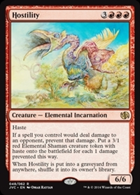 Hostility - Duel Decks Anthology, Jace vs. Chandra - Rare