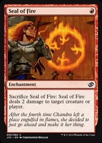 Seal of Fire - Duel Decks Anthology, Jace vs. Chandra - Common