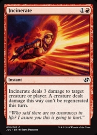 Incinerate - Duel Decks Anthology, Jace vs. Chandra - Common