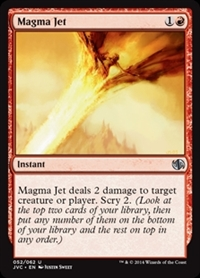 Magma Jet - Duel Decks Anthology, Jace vs. Chandra - Uncommon