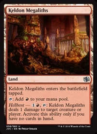 Keldon Megaliths - Duel Decks Anthology, Jace vs. Chandra - Uncommon