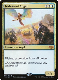 Iridescent Angel - From the Vault: Angels - Mythic Rare