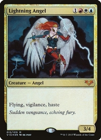 Lightning Angel - From the Vault: Angels - Mythic Rare