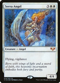 Serra Angel - From the Vault: Angels - Mythic Rare