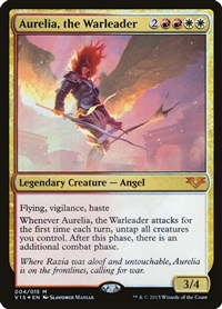 Aurelia, the Warleader - From the Vault: Angels - Mythic Rare