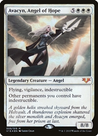 Avacyn, Angel of Hope - From the Vault: Angels - Mythic Rare