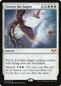 Entreat the Angels - From the Vault: Angels - Mythic Rare