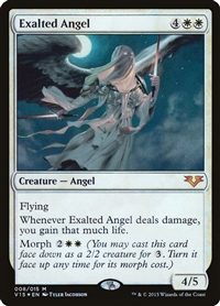 Exalted Angel - From the Vault: Angels - Mythic Rare