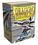 Dragon Shield Sleeves (100) - Silver