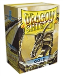 Dragon Shield Sleeves (100) - Gold