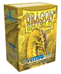 Dragon Shield Sleeves (100) - Yellow