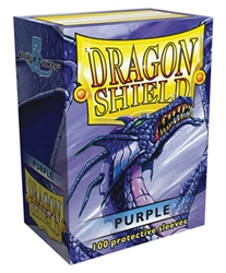 Dragon Shield Sleeves (100) - Purple