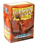 Dragon Shield Sleeves (100) - Copper