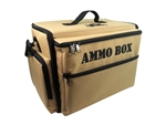 Ammo Box Bag with Full Pluck Foam Loadout - Khaki