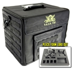 P.A.C.K. 720 Molle Half Tray Pluck Foam Load Out (Black) - BF-BB720MB-HPF
