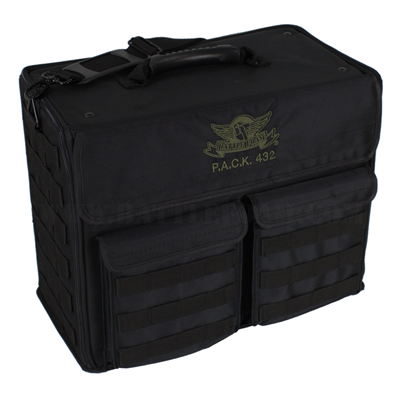 P.A.C.K. 432 Molle Empty (Black) - BF-BB432MB-BE